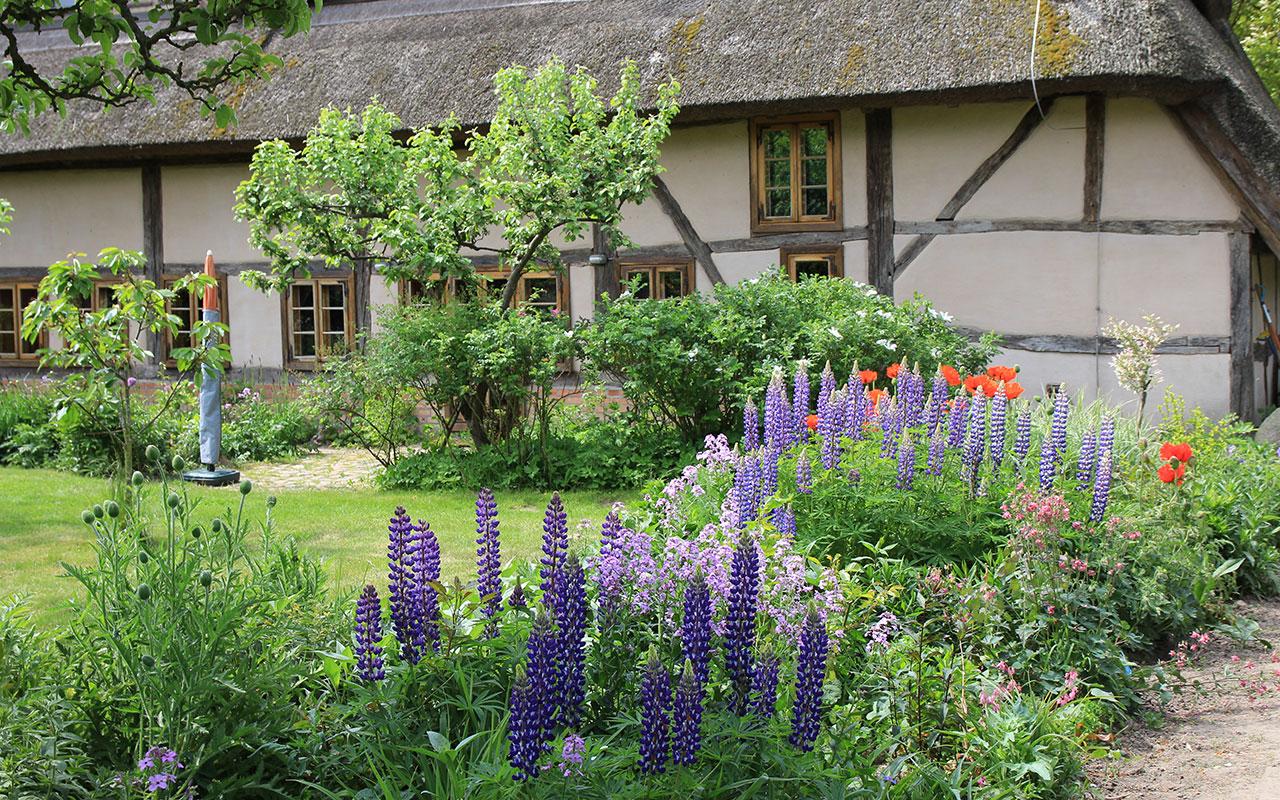 Bauernhaus mit Naturgarten –Gartenbau_Landschaftsbau Thomas Diederich